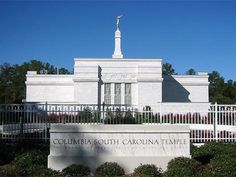 Columbia South Carolina LDS Temple.  This is in my home state, one I visit on a regular basis.  I love it!