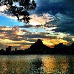 Sunset in Rio de Janeiro - @chmarra   Webstagram