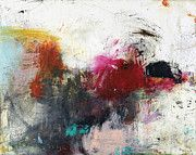 Abstract Art Large Scale Art - Hard Tellin IV by Michel  Keck
