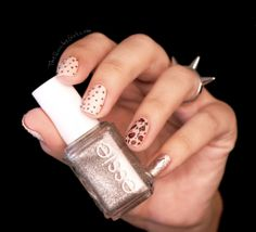Nailstorming, essie, tatoo, leopard, rock, Quichegirl