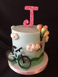 Bicycle Birthday Cake for Jenni.