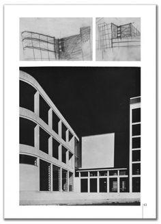 Casa della GIL, Trastevere, Roma IT (1933-36)   Luigi Moretti