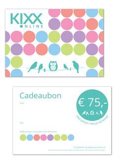 Gift Cards, Concept & Design by Anjuska Slijderink