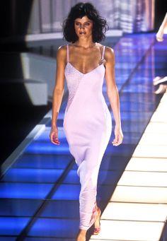 Helena Christensen for Gianni Versace Runway Show Fall/Winter 1996