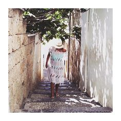 Lindos town Greece  absolutely stunning! #travel #greece #love #lindos #photography #fashion #blogger #fringes #me #canon #bikini #summer #architecture #tan