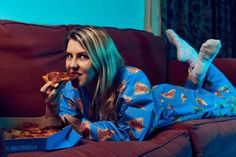 Have Your Pizza In Bed While Wearing Dominos New Pizza Onesie