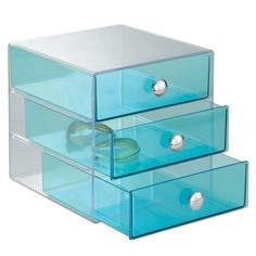 InterDesign Drawers, Aqua $19.99 #topseller