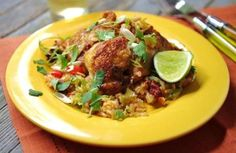 #Recipe for chipotle chicken with rice
