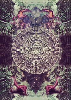 mayan calendar / Sacred Geometry <3                                                                                                                                                     More