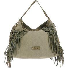 Liu •jo Handbag (£184) ❤ liked on Polyvore featuring bags, handbags, military green, liu jo handbags, snap purse, animal handbags, shopping bag and animal purse