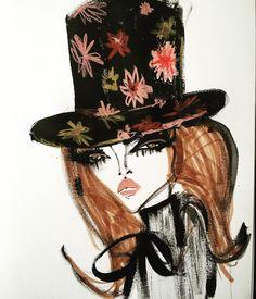 Blair Breitenstein fashion sketch