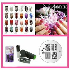 Konad, the masters of Nail Art, have done it again with these amazing Nail Art Stamp Plates! Each plate features unique designs that you'd be unable to recreate by hand. Perfect for any professionals or for anyone trying to pick up the hobby!'