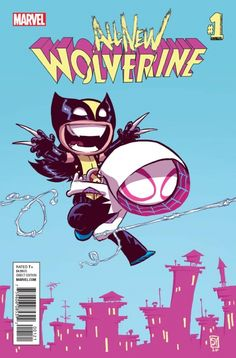 All-New-Wolverine-Annual-Portada-alternativa-de-Skottie-Young | Revista YUME