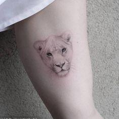 Lion Head Tattoos, Scary Tattoos, Mens Lion Tattoo, Panther Tattoos, Black Panther Tattoo, Mini Tattoos, Bff Tattoos, Tatoos, Animal Tattoos For Men