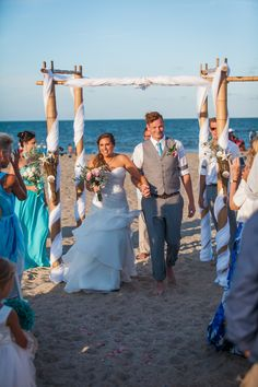 Tybee Island Wedding Beach Arbor