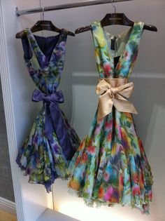 DennisBasso Boutique springs into the season. #dresses