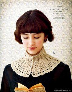 Col Crochet, Crochet Cape, Crochet Collar, Lace Collar, Crochet Scarves, Crochet Shawl, Crochet Clothes, Crochet Neck Warmer, Kurti Neck Designs