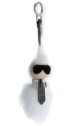 The Fendi Karlito, the Mini Karl Lagerfeld Bag Charm                                                                                                                                                                                 More