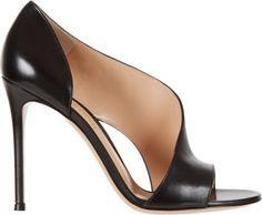 GIANVITO ROSSI Gianvito Rossi Leather Open-Side Sandal