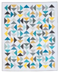 and Sea Quilt Kit Boy Quilts, Scrappy Quilts, Girls Quilts, Quilt Kits, Quilt Blocks, Quilting Projects, Quilting Designs, Quilting Ideas, Teal Quilt