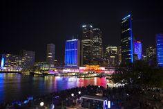 Photo Number 142. Beautiful city of Sydney on Vivid Festival #auphotoproject #vividsydney #lights