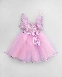 Sequined princess dress