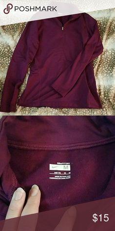 Purple Nike pullover Purple Nike dry fit pullover Nike Tops Sweatshirts & Hoodies