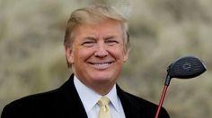 Donald Trump, der golfende Präsident #golf #trump