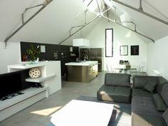 Vetro e cemento loft cube una piscina sul tetto vista mole antonellia - Loft a vendre angers ...
