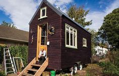 Lily's 150 Sq. Ft. Tiny House on Wheels in New Zealand 001