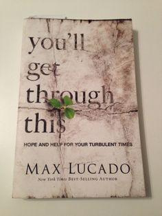 I read this book a year ago and it was great.  I read it again this year because I needed its wisdom because of the hard season we are in currently.  Great book that really helped me once again.