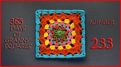 365 Days of Granny Squares Number 233