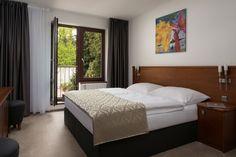 Ložnice v apartmánu Premium penzionu Integrity v Brně