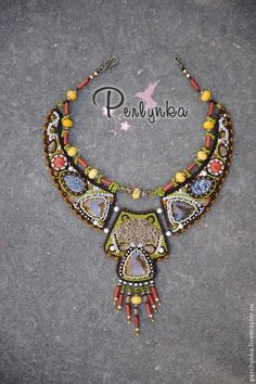 Beaded necklace..