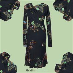 NEW ARRIVAL! #RobertoCavalli #Dress #Vintage #Clothes #Secondhand #Fashion #Designer #OnlineShop #MyMint