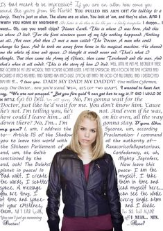 "Rose Tyler Quotes - First one I read ""I...I love you"" Of course... Broke down in tears <3 And first thing I saw when I woke up this morning? A picture of that scene and her saying that and The Doctor disappearing... Today started out pretty depressing, I must say :-/ Rose and The Doctor. My favorites <3"