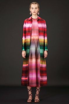 Rainbow of the Week: Valentino Resort 2015 Frida Kahlo and Rainbow Psychedelic Prints