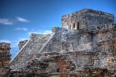 Maya Ruins of Tulum, Yucatan Peninsula, Quintana Roo, Mexico