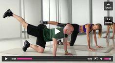 Victoria's Secret Butt Exercises Workout