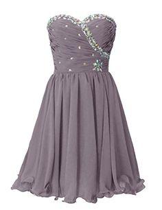 Dresstells Sweetheart Homecoming Dress with Beadings Short Bridesmaid Dress Grey Size 10 Dresstells http://www.amazon.com/dp/B00MM4JQZC/ref=cm_sw_r_pi_dp_sY77ub1461V3E