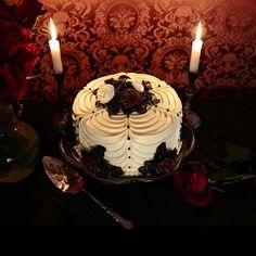 Christine H McConnell | Gothic Bake Queen #gothic #baking #vintage
