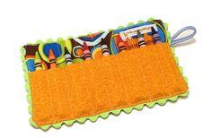 GroopDealz | Mini Crayon Roll - 8 Designs! #rileyblakedesigns #carfabric #crayonroll