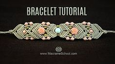 Big Bead Boho Bracelet Tutorial by Macrame School - YouTube