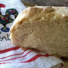 Portuguese Rustic Bread Made by Vo-Vo #SundaySupper