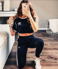 Sport clothes for teens schools cute outfits 48 ideas for 2019 Sport Outfits clothes Cute Ideas outfits schools Sport teens Adidas Shoes Outfit, Cute Addidas Outfits, Teen Fashion Outfits, Girl Outfits, Dance Outfits, Fashion Ideas, Looks Adidas, Mode Adidas, Adidas Zx