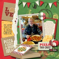 pizza - Scrapbook.com