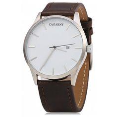 CAGARNY 6850 Business Style Men Quartz Watch Negocio ad93c5804615