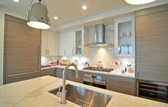 The Wilshire in Houston offers classic yet modern SieMatic kitchens with SubZero Wolf appliances