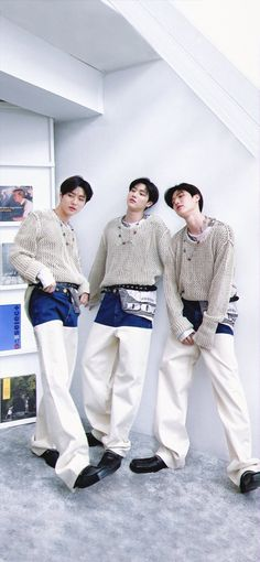 Produce 101, Korean Actors, White Jeans, Exo, Wallpaper, Boys, Pants, Style, Fashion