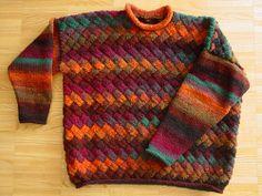 Noro Kureyon Entrelac Sweater